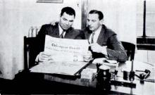 Jack Dempsey at the Germania Broadcast Office (1929)